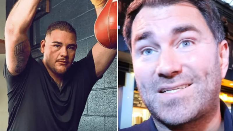 Eddie Hearn Responds To Andy Ruiz Jr's Weight Loss, Claims He's Tricked Fans