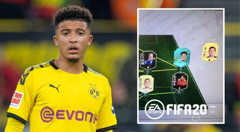 Jadon Sancho's FIFA 20 Ultimate Team Would Destroy Yours
