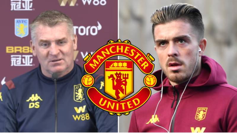 Aston Villa Manager Dean Smith Responds To Jack Grealish Being Linked With A Move To Manchester United