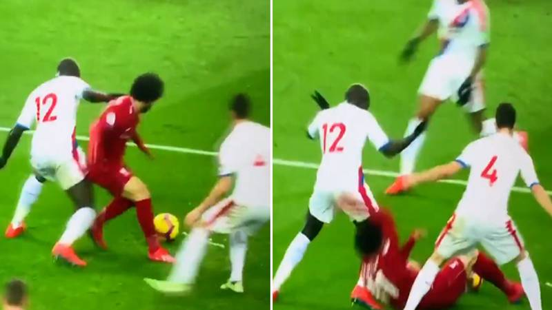 Mohamed Salah Criticised For Diving Against Crystal Palace