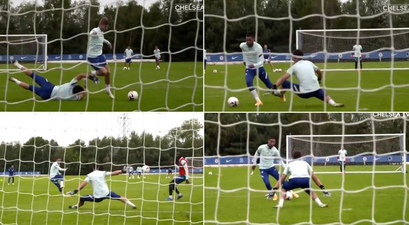 Chelsea's New Transfers Easily Beat Kepa Arrizabalaga In Training