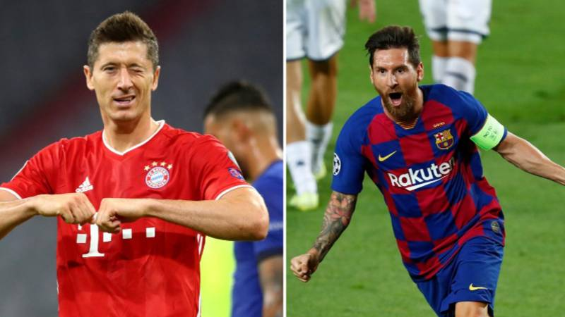 'Robert Lewandowski Is The Best Player In The World, Not Lionel Messi'