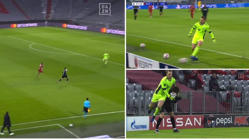 Manuel Neuer's Shithousery During Champions League Match Was Well Worth The Yellow Card