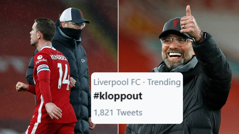 Rivals Fans Get #KloppOut Trending On Twitter After Liverpool's Defeat To Brighton