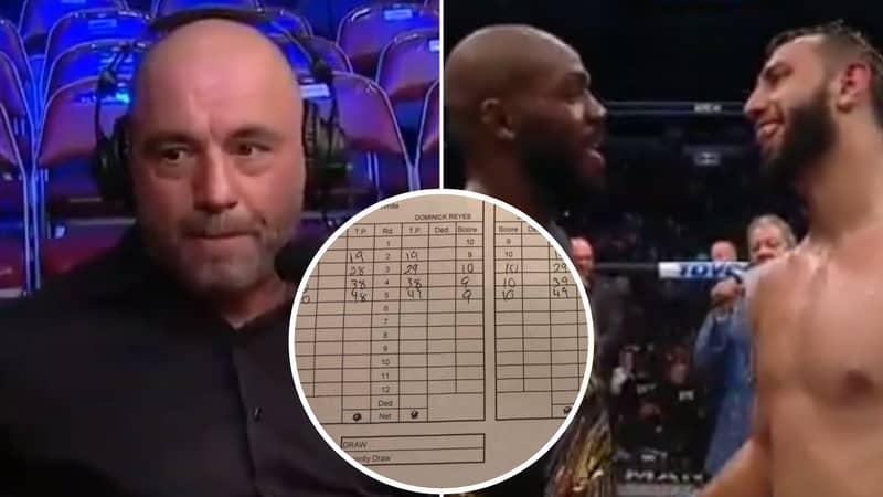 Joe Rogan Slams UFC Judges For 'Insane' Jon Jones Vs Dominick Reyes Scorecard
