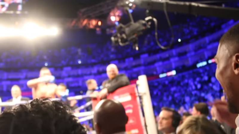 Bellew Invites Joshua Into Ring After Beating Haye, He Responds In The Most Classiest Way Possible
