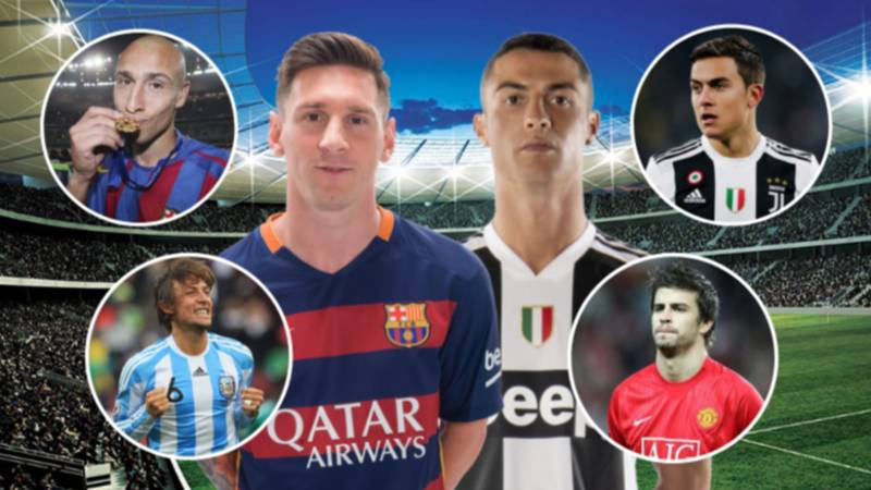 The 12 Lucky Players To Have Played With Lionel Messi And Cristiano Ronaldo