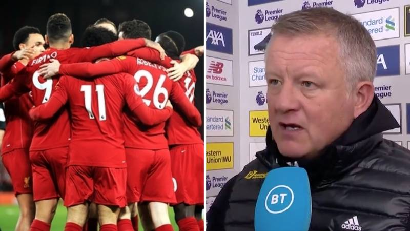 Sheffield United Boss Chris Wilder Gives The Ultimate Compliment To Jurgen Klopp's Liverpool