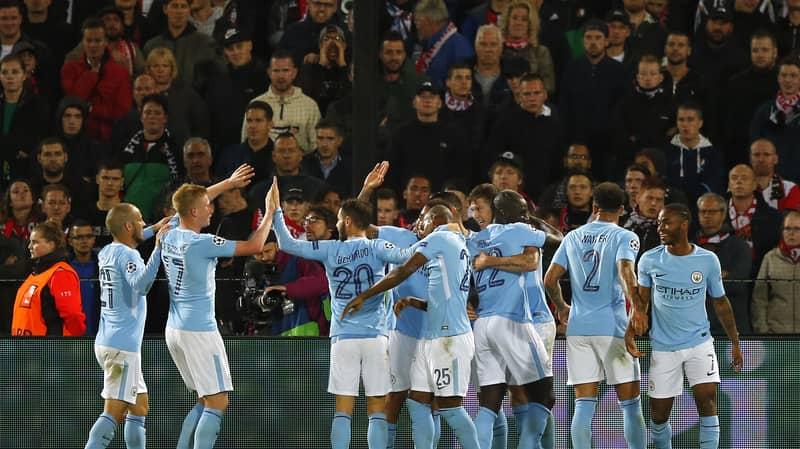 Unlikely 200/1 Feyenoord-Man City Bet Sees Three Punters Win Big