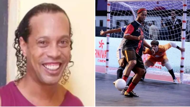 Prison Where Ronaldinho Is Being Held Are Hosting Futsal Tournament