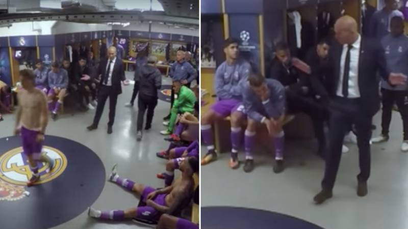 Zinedine Zidane's 'Genius' Half-Time Team Talk In Champions League Final Is Proof He's World Class