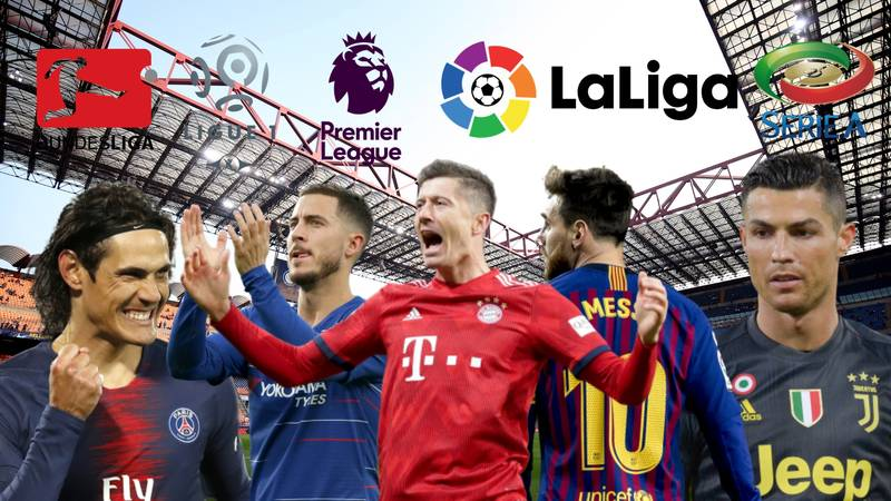 Subscription To All Of Europe's Top Five Leagues Costs Over £1,000