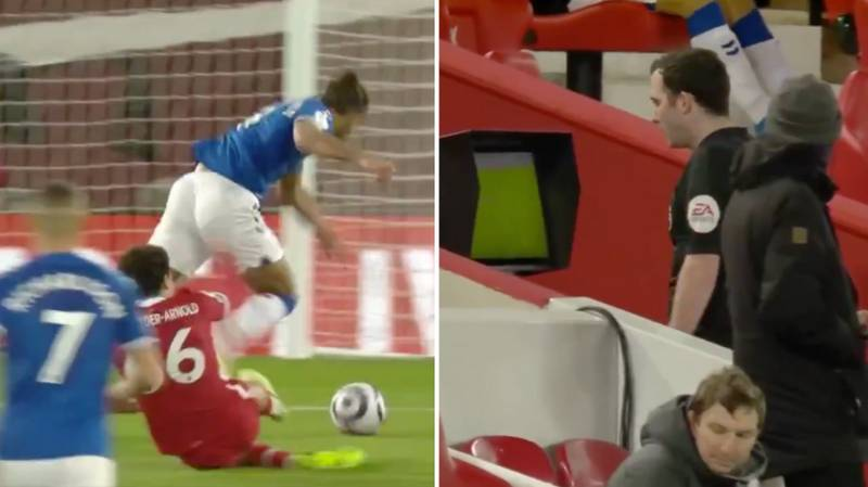 There Is A Huge Debate On Social Media Right Now About Everton's Controversial Penalty Decision