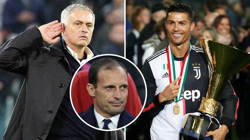 Cristiano Ronaldo Wants José Mourinho To Become The Next Juventus Manager