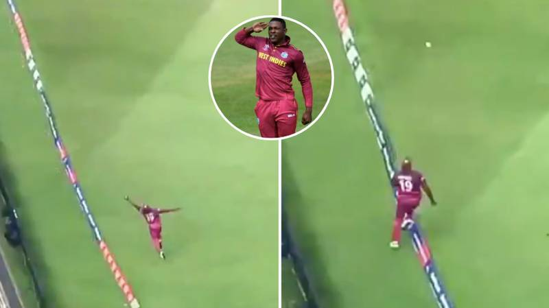 Sheldon Cottrell Takes Incredible World Cup Catch Vs Australia, 'Better Than Stokes'