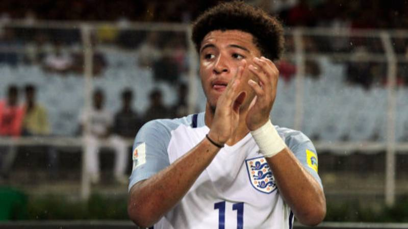 Everyone Is Raving About Jadon Sancho's Highlights For England U17's