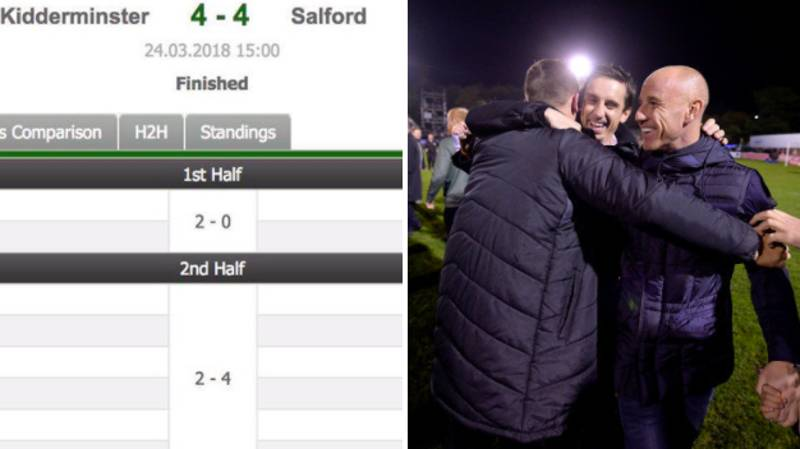 Non-League Salford City Produce Incredible Comeback From 4-0 Down