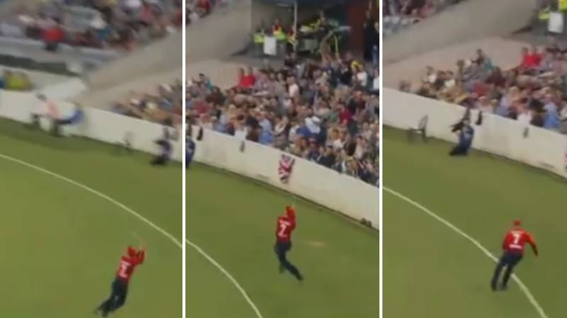 Sam Billings Takes Brilliant Catch For England In T20 Warm Up