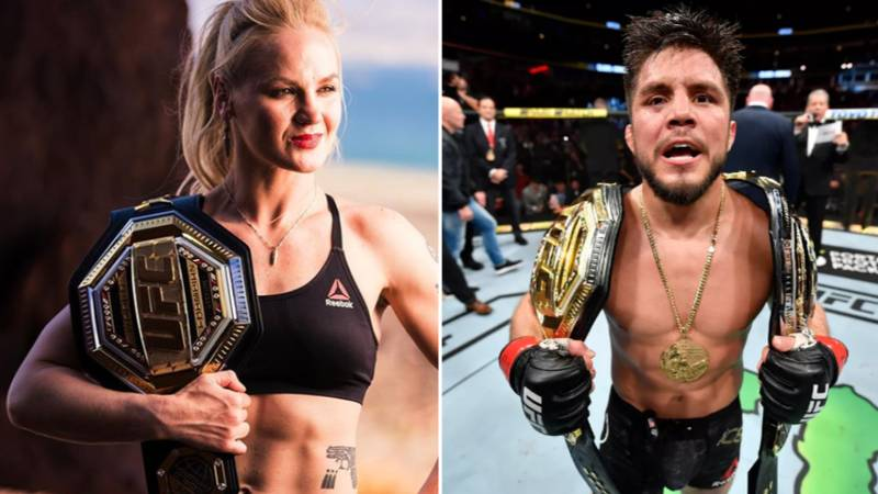 UFC Double Champion Henry Cejudo Bizarrely Calls Out Women's Flyweight Champion Valentina Shevchenko