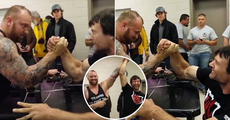 'The Mountain' Suffered A Devastating Arm-Wrestling Defeat To A Man Half His Size