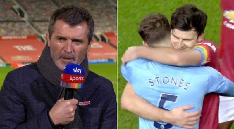 Roy Keane Was Absolutely Furious With Manchester United And Manchester City Players Hugging