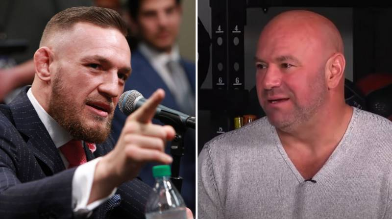 """Why Dana White Was """"Very Upset"""" With Conor McGregor Last Year"""