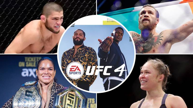 EA Sports Reveal Top 50 Fighters In UFC 4, Some Huge Names Are Incredibly Far Down
