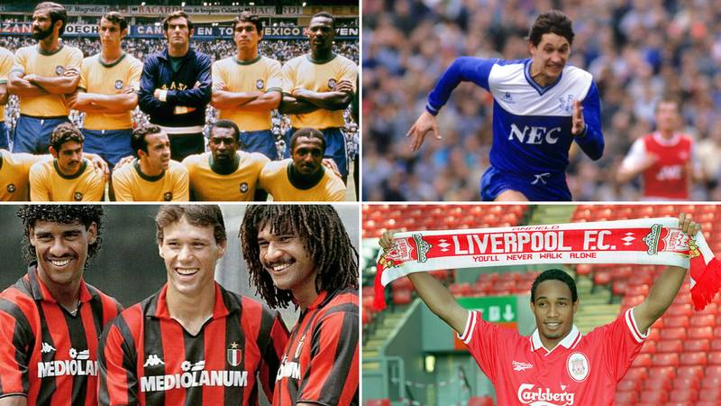 Ten Of Football's Greatest Ever Retro Kits Have Been Ranked