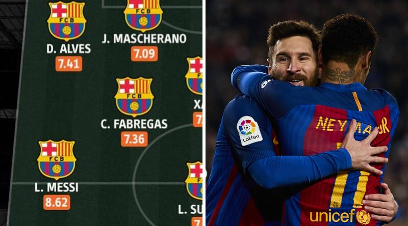 Barcelona's Team Of The Decade Has Been Revealed With A Few Surprises