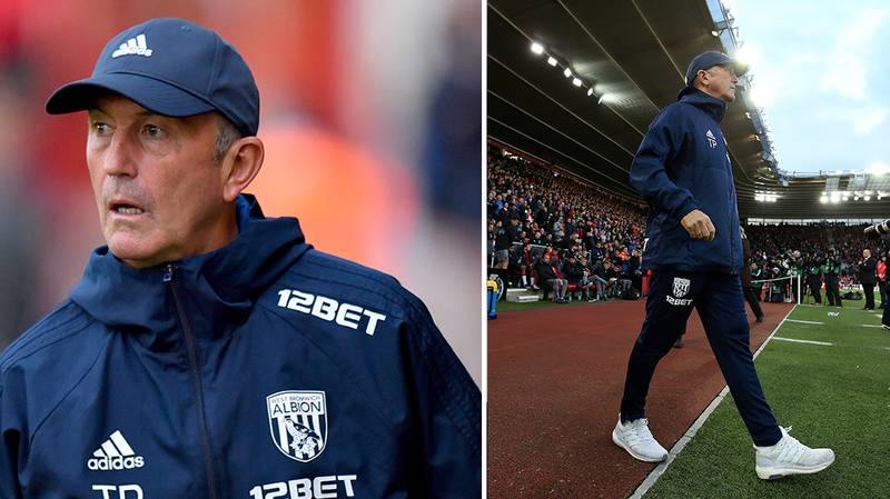 Tony Pulis Has Been Sacked As West Brom Manager