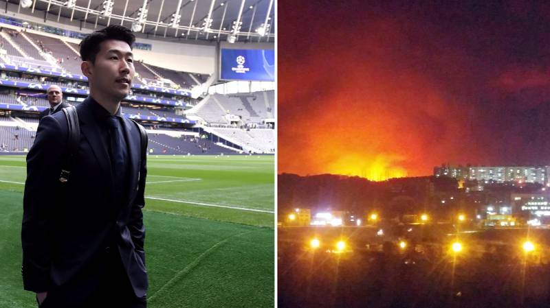 Son Heung-min Has Donated £100k To Victims Of South Korea Forest Fire
