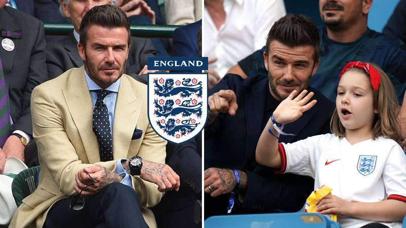 David Beckham Says Becoming England Manager Would Be A 'Dream Job'