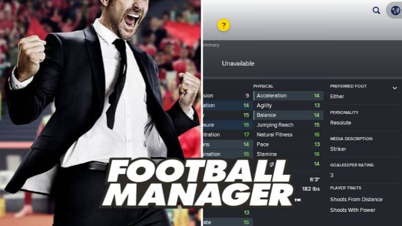 Football Manager Have Only Ever Changed The Ratings Of One Player Who Asked