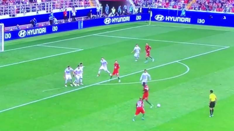 WATCH: Portugal Produced One Of The Worst Free-Kick Routines You'll Ever See