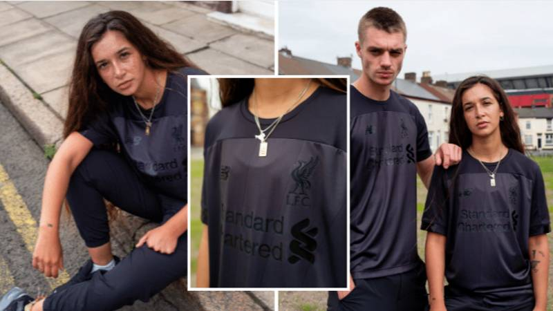 New Balance Release New 'Blackout' Limited Edition Liverpool Shirt