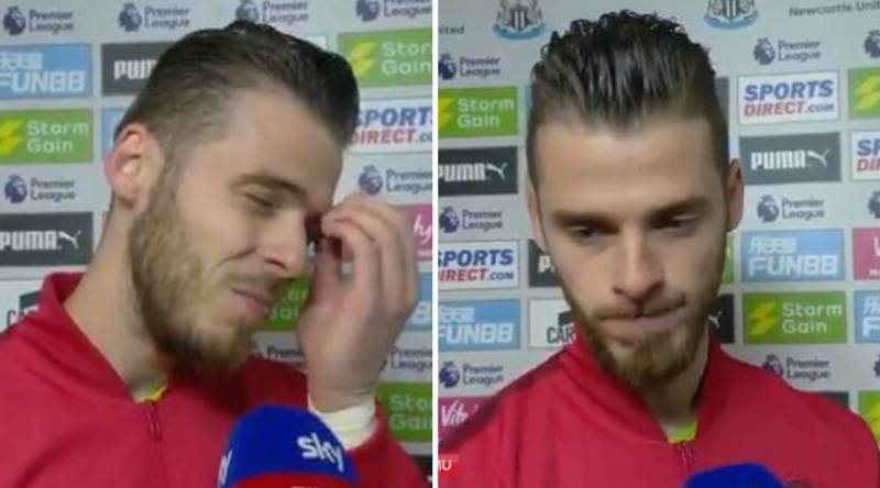 Emotional David De Gea Slams Manchester United's Season After 1-0 Defeat To Newcastle