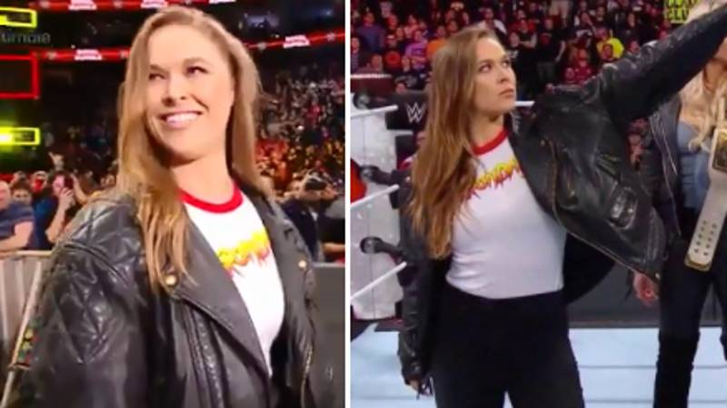 Ronda Rousey Officially Signs A Deal With WWE