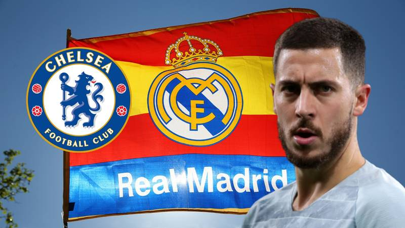 Real Madrid To Offer Chelsea One Of Two Players For Eden Hazard