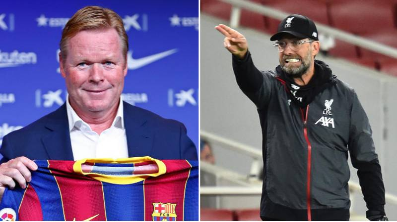 Ronald Koeman Tells Liverpool Star Not To Sign A New Contract Ahead Of Transfer To Barcelona