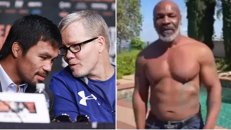 Manny Pacquiao's Trainer Freddie Roach Backs Mike Tyson To Knock Out Roy Jones Jr