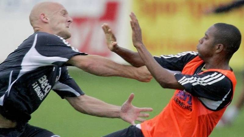 The Moment Thomas Gravesen Tried To Deck Robinho In Real Madrid Training Bust-Up