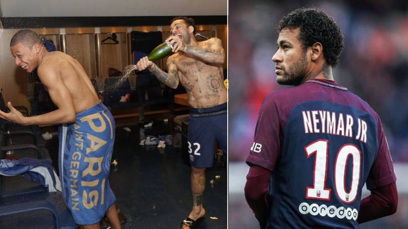 What Neymar Was Doing While Paris Saint-Germain Won The Title