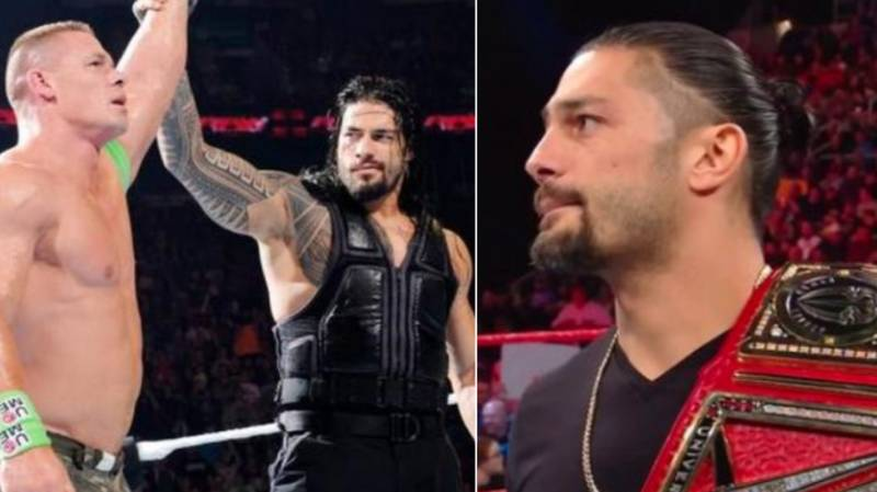 John Cena Reaches Out After Roman Reigns Reveals He Is Battling Leukaemia