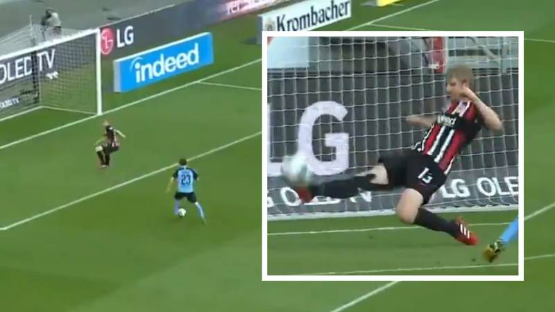 Martin Hinteregger Produces The Greatest Goal Line Clearance Of All Time