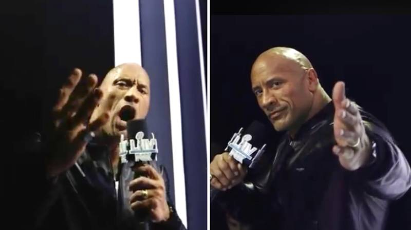 The Rock Wins Super Bowl MVP For His Stunning Team Introductions