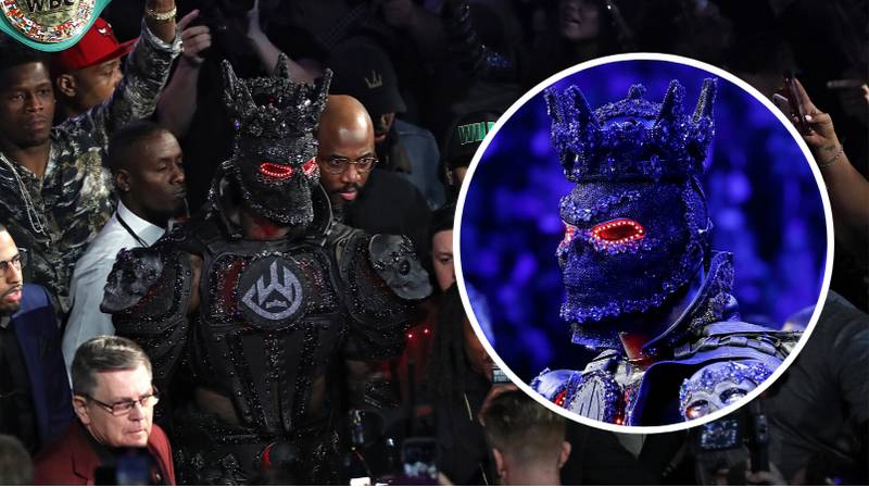'Deontay Wilder's Costume Didn't Make An Ounce Of Difference'