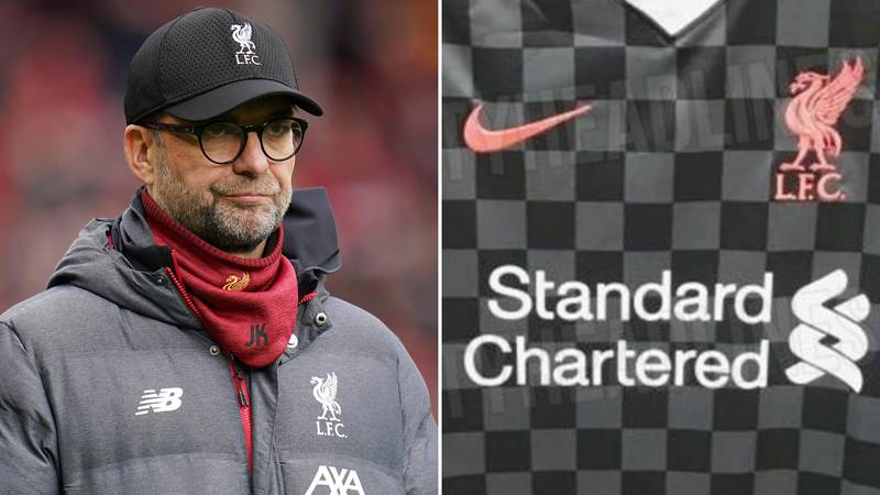Images Of Liverpool's Third Kit From Nike Have Leaked Online