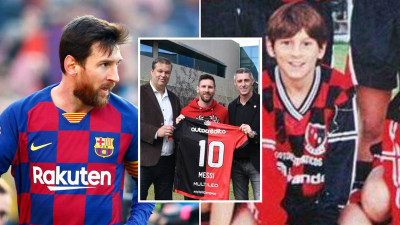 Lionel Messi Could Make A Shocking Return To Boyhood Club Newell's Old Boys
