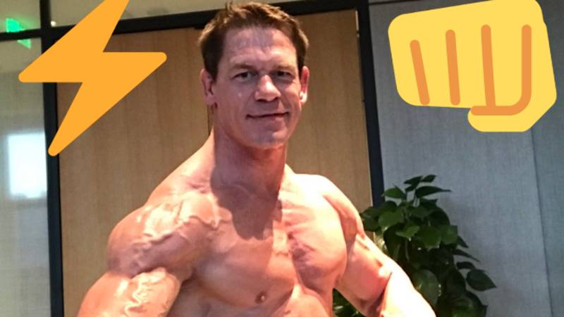 John Cena Looks Absolutely Ripped In Latest Footage