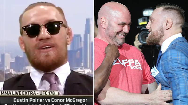 Conor McGregor's Incredible Story Of Meeting Dana White For First Time Ever When He Was 16 Years Old